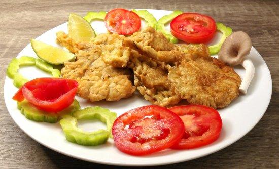 DD Fusion Food & Homestay: (vegetarian food 01) - Golden Mushrooms