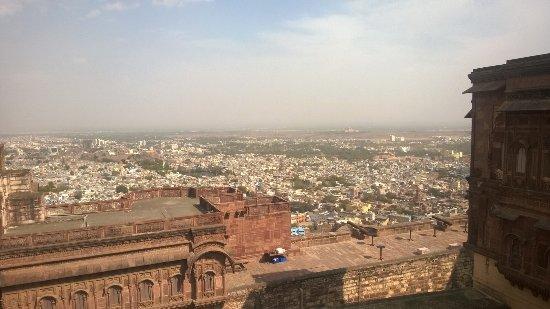 Manoj Nayak: Udaipur, Ausblick vom Fort.