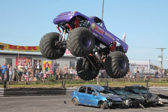 ‪‪Skegness‬, UK: Monster Truck‬