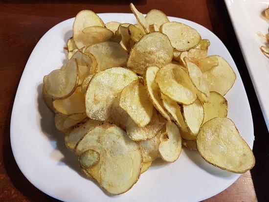 Restaurant Korona: Fried potatoes.