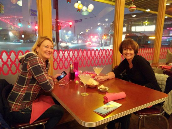 Rosario's Mexican Cafe Y Cantina: Unwinding after a long conference