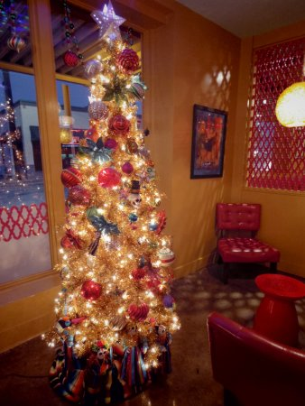 Rosario's Mexican Cafe Y Cantina: Christmas time at Rosario's