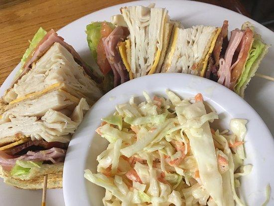 Around the Corner: Club Sandwich