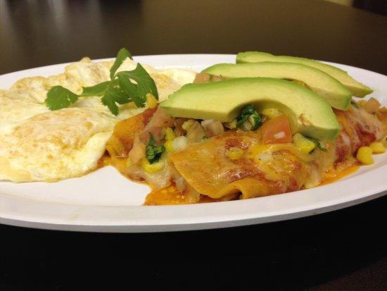 Around the Corner: Enchiladas and Eggs