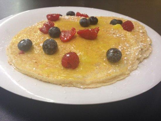 Around the Corner: Lemon Berry Pancakes