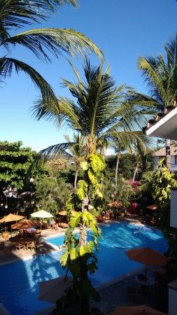 Hotel Villablanca Huatulco: vue de la chambre 319