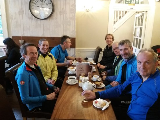 The Family Tree Restaurant: cafe stop for thirsty MTB'ers