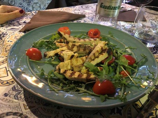 Bucko Seafood Restaurant: Tagliata di pesce spada e rucola