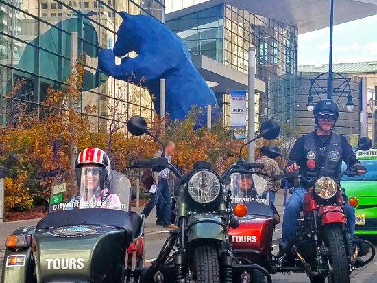 City on the Side: No Trip to Denver is Complete Without the Big Blue Bear.