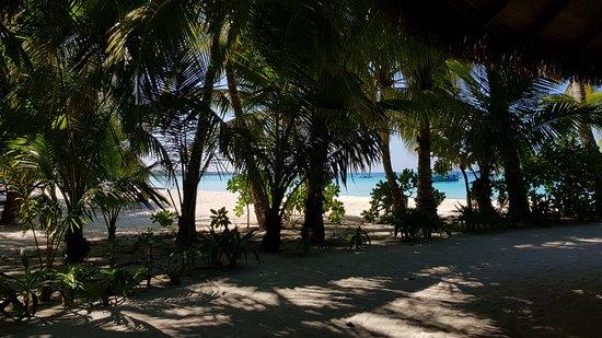 Kuramathi Island Resort: The Beach