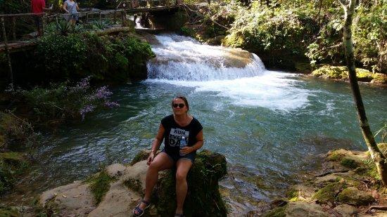 El Nicho Waterfalls: Waterfalls El Nicho