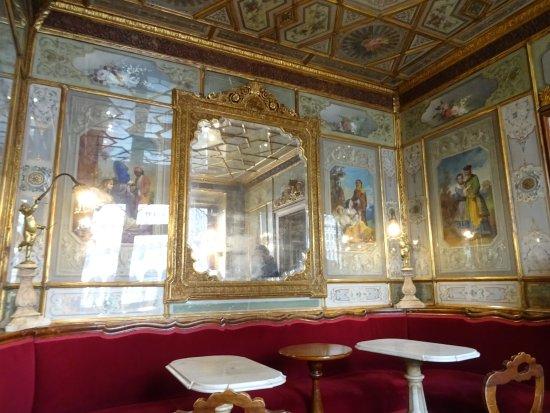 Cafe Florian: barokke spiegelzalen