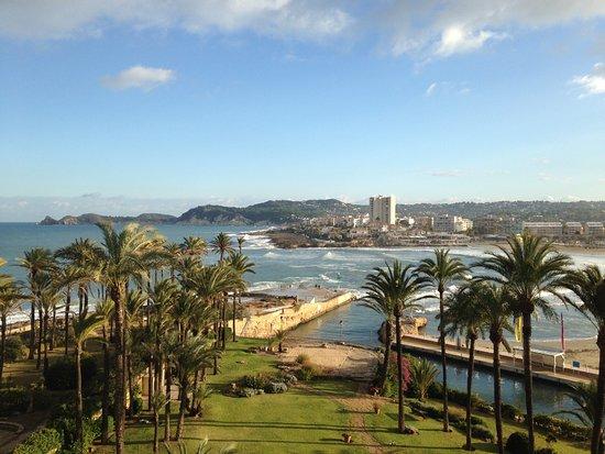Parador de Jávea: View from the balcony