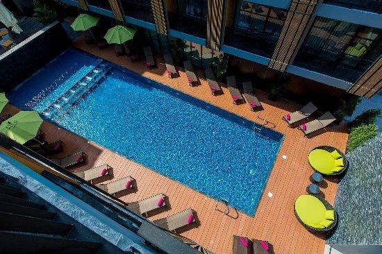 GLOW Ao Nang Krabi: Swimming Pool view