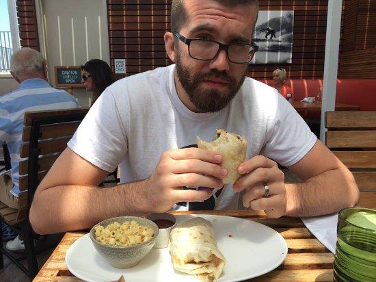 Duke's La Jolla: Beach Boy Breakfast Burrito