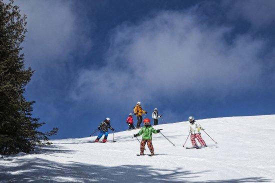 Lutsen Resort on Lake Superior: Alpine skiing at Lutsen