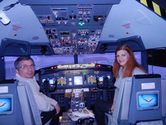 AeroSim Experience: Cabine de pilotage du Boeing 777