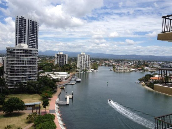 Vibe Hotel Gold Coast: View from Balcony