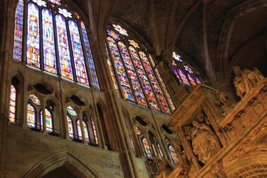 Santa María de León Cathedral Foto