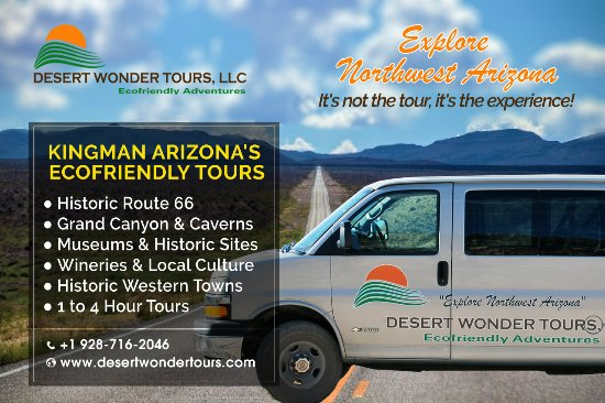 Discover the Northwest while visiting or traveling through Kingman.