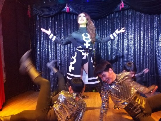 Nightly show at Ram Bar. Great artistic direction, choreography, lip sync and movement through e