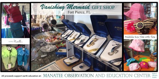 Fort Pierce, FL: Vanishing Mermaid Gift Shop is a unique shop full of affordable gifts and and earth-friendly ite