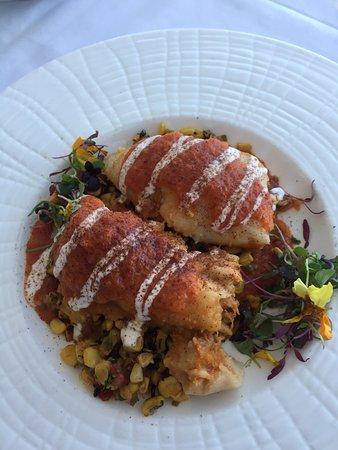 Getty Center Restaurant: tamales