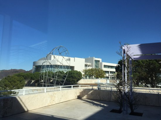 Getty Center Restaurant: view from the restaurant