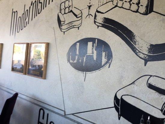 Getty Center Restaurant: Mural