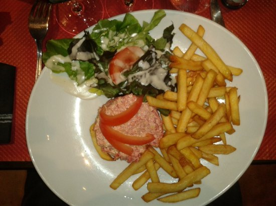 Brasserie de l'Hotel de ville: Tartare préparé