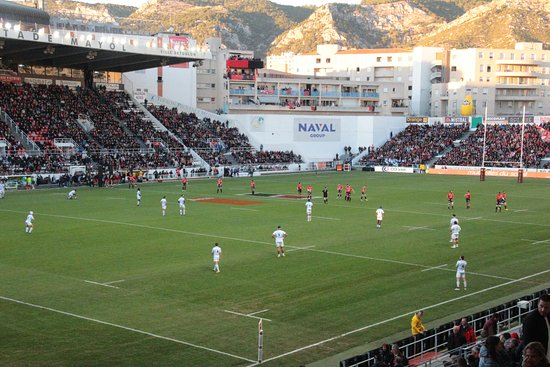 Stade Mayol : match RCT contre le Racing Métro