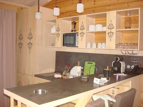 Okhta Park Ski Complex: кухня