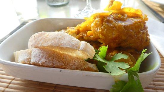 Salinas Beach Restaurant: Werners curried fish