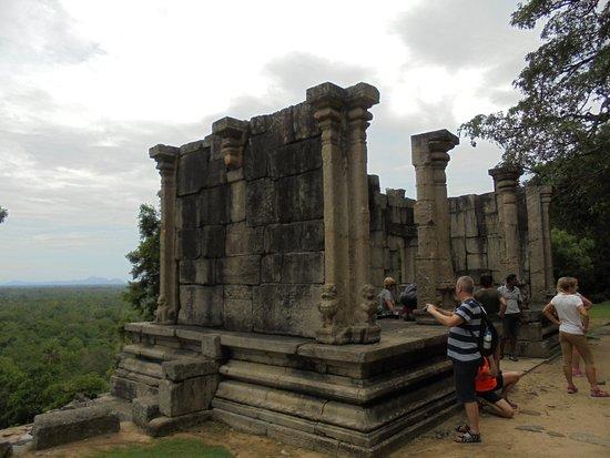 Yapahuwa, Sri Lanka: Resten van een tempel