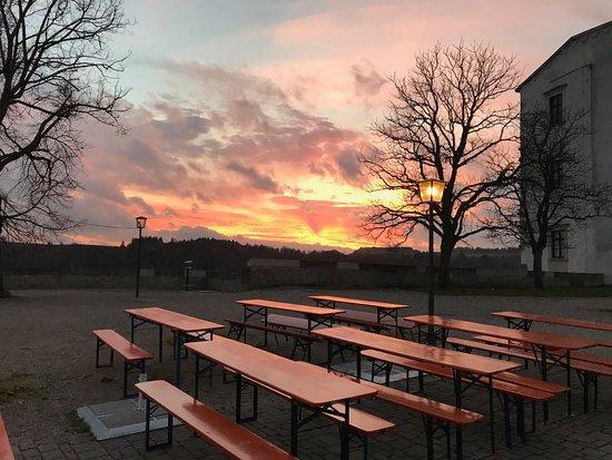 Die Burgschanke Eichstatt: Morgenröte