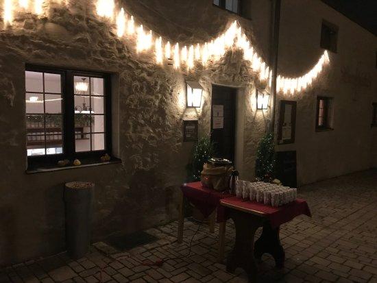 Unser Biergarten - Bild von Burgschänke, Eichstätt - TripAdvisor