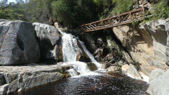 Wilderness, Sudáfrica: größerer Wasserfall