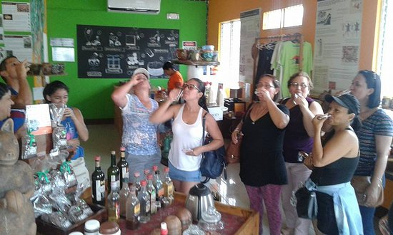 TSO Travel & Tour: At the Chocolate Museum of San Juan del Sur with Costa Rican tourists