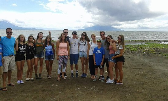 TSO Travel & Tour: On Lake Nicaragua with a family of tourists from the United States of America