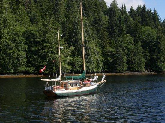 Tlell, Kanada: Piraeus sail boat