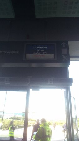 Ryanair: Ticket control