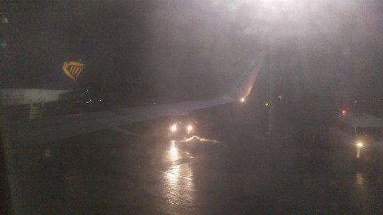 Ryanair: View after landing