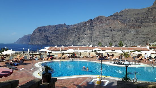 Hotel Sensimar Los Gigantes: Klein zwembad