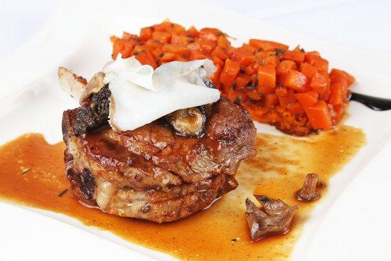 Restaurant des Alpes: Côte de veau