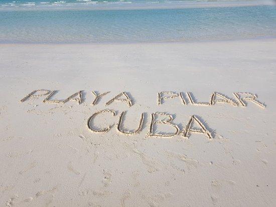 Playa Pilar: bello