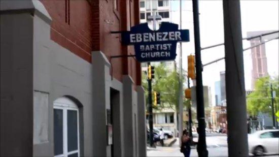 Ebenezer Baptist Church of Atlanta: outside