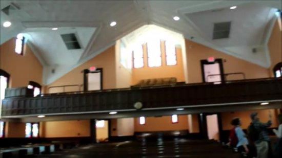 Ebenezer Baptist Church of Atlanta: inside