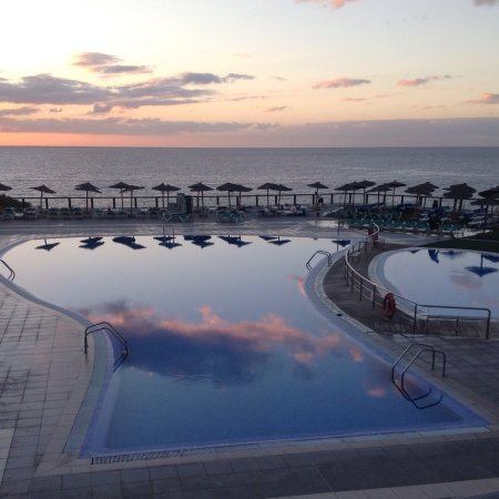 Aguamarina Golf Apartments: View from room 7.30 am
