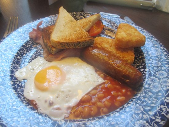 The Ledger Building: You can't go wrong with this !.....A Traditional Breakfast.....