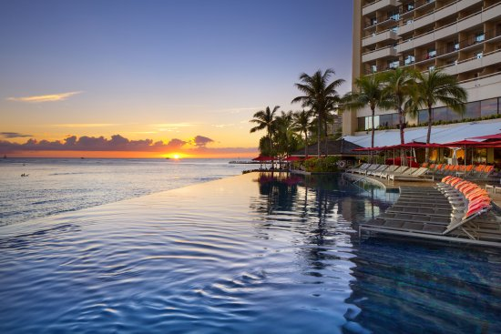 Image result for Infinity Edge Pool, Hawaii Sheraton Waikiki'